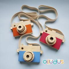 Câmera Fotográfica Colorida