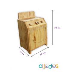 Kit móveis de madeira