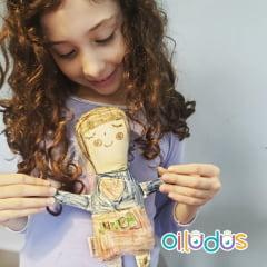 Boneca para pintar