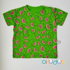 Camiseta Infantil Manga Curta - Boca de Melancia